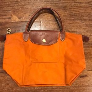 Longchamp top handle le pliage